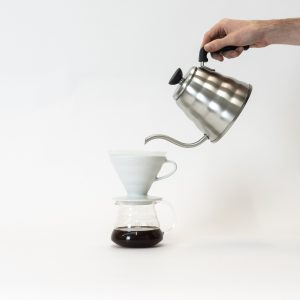 Hario Kettle and V60 Dripper, with Server