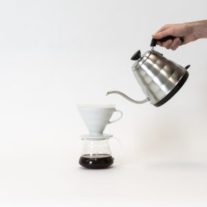 Hario Electric kettle with V60 Dripper